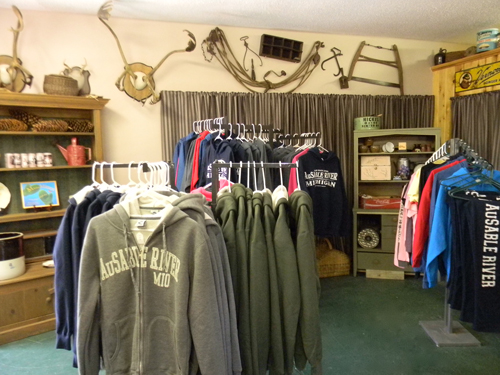Northern Michigan Gift Shop - Rainbow Resort Cabins and Canoe Livery - Northern Michigan Canoeing and Kayaking Gifts and Accessories