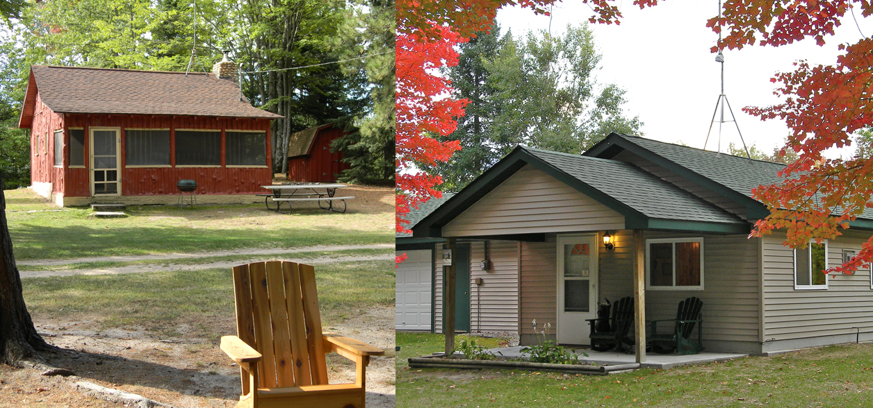 Genial Rainbow Resort Cabins And Canoe Livery | Northern Michigan Resor